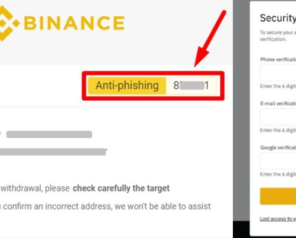 Wie Banken Online Banking Sicherer machen können: Beispiel Binance Anti-Phishing -Rechtsanwalt-Kaufmann